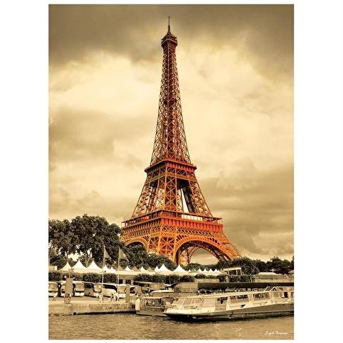 Anatolian Puzzle Anatolian 1000 Parça Puzzle Eiffel Kulesi Renkli